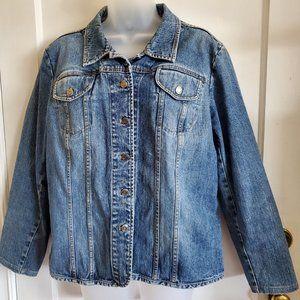 Denim Style & Co. Blue Jean Jacket